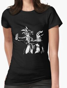 Dragon Fiction Womens Fitted T-Shirt