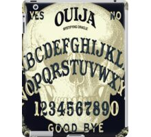 Black Ouija iPad Case/Skin