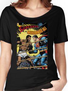 Muhammad Ali v Superman Women's Relaxed Fit T-Shirt