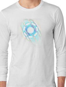 Arc Reactor T-shirt Design Long Sleeve T-Shirt