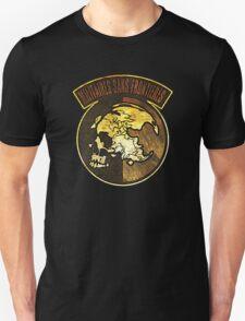 °METAL GEAR SOLID° Militaire Sans Frontières WOOD LOGO Unisex T-Shirt