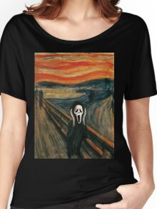 (The) Scream Parody Women's Relaxed Fit T-Shirt