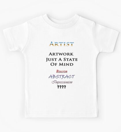 Artist Kids Tee