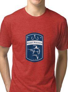Reef Raider Fishing Tri-blend T-Shirt