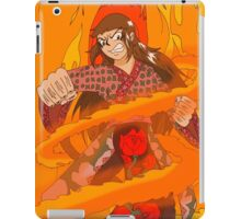 Raiden Legacy - Flaming Flower (Action) iPad Case/Skin