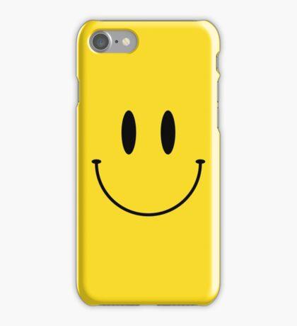 Smile face classic emoji iPhone Case/Skin