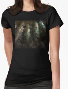 Ammonite shell Womens Fitted T-Shirt