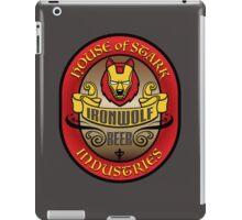 House of Stark Industries - IRONWOLF BEER iPad Case/Skin