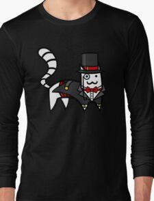 Top Hat Cat Long Sleeve T-Shirt
