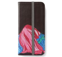 Lady Dancer Lays Back (small) iPhone Wallet/Case/Skin