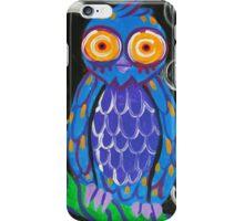 Whimsical Retro Style Owl iPhone Case/Skin