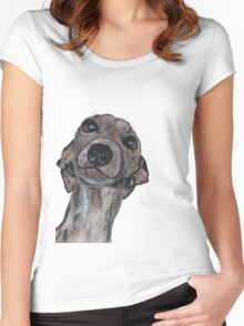 GREYHOUND g909 Women's Fitted Scoop T-Shirt