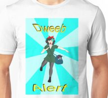 Dweeb alert Unisex T-Shirt