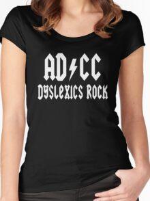 Dyslexics Rocks Women's Fitted Scoop T-Shirt