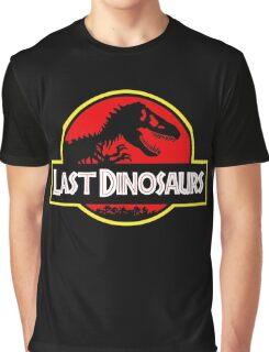 Last Dinosaurs Jurassic Park Graphic T-Shirt