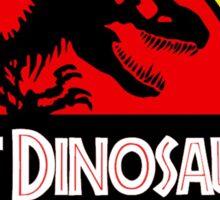 Last Dinosaurs Jurassic Park Sticker