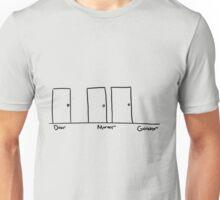 door - mordor - gondor Unisex T-Shirt