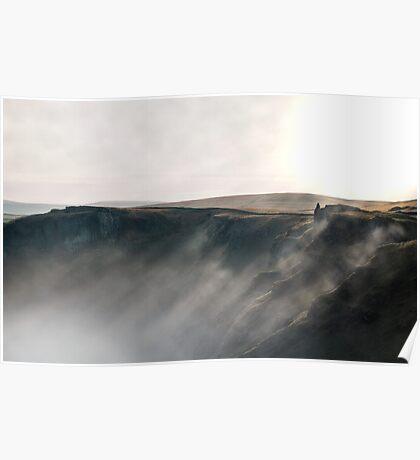 Misty Winnats - Peak District Poster