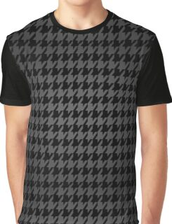 Persona 4 Yasogami Hounds Tooth Graphic T-Shirt