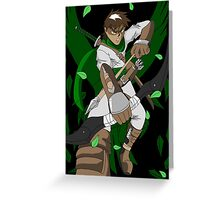 Raiden Legacy - Eagle Eyed (Action) Greeting Card