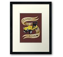 classic love Framed Print