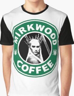 Mirkwood Coffee Graphic T-Shirt