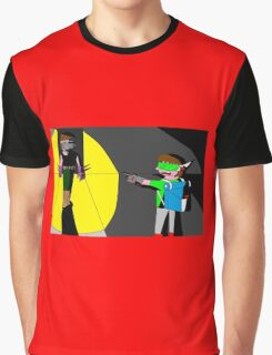 Battle of the two Scifiguys Graphic T-Shirt
