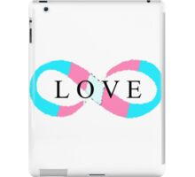Infinite Love (transgender colors) iPad Case/Skin