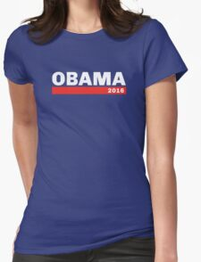 OBAMA 2016 Womens Fitted T-Shirt