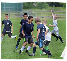 Youth Soccer Game Poster