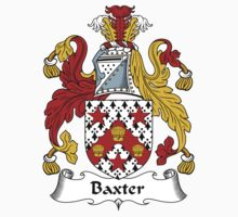 Baxter Coat of Arms / Baxter Family Crest Kids Tee