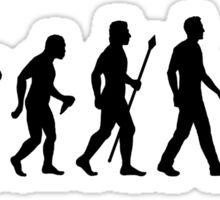 Funny Sniper Evolution Of Man Shirt Sticker