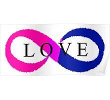 Infinite Love (bisexual colors) Poster