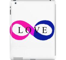 Infinite Love (bisexual colors) iPad Case/Skin
