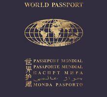 World Passport  V01 Unisex T-Shirt