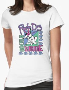IN THE MOOD TO BE RUDE Womens Fitted T-Shirt