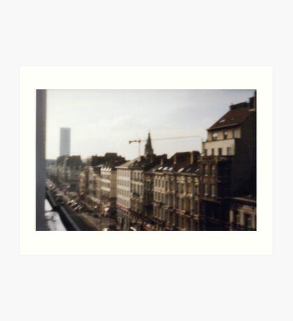 Bruxelles pinhole Art Print