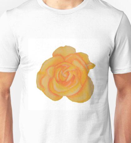 Yellow Rose, Keep Smiling. Unisex T-Shirt