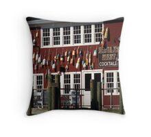 Nautical Bar Throw Pillow