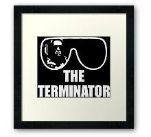 Macho Terminator Framed Print