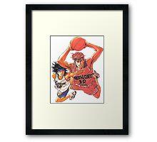 Slam Dunk #01 Framed Print