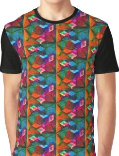 Isometric Tangles Graphic T-Shirt