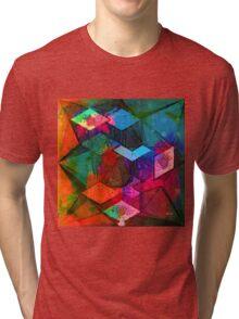 Isometric Tangles Tri-blend T-Shirt