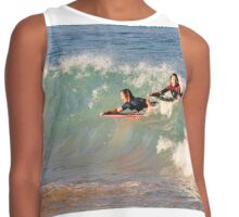 Surfing Nobby's Style Contrast Tank