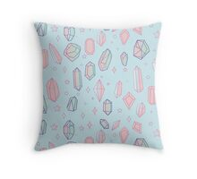 Crystal Universe Throw Pillow
