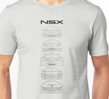 Generations of NSX- Light Unisex T-Shirt