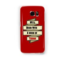 The Reign of Dr. Griffin Samsung Galaxy Case/Skin