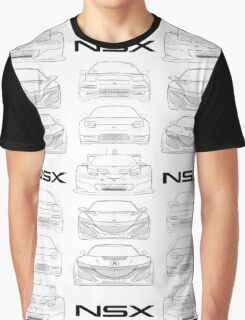 Generations of NSX- Light Graphic T-Shirt