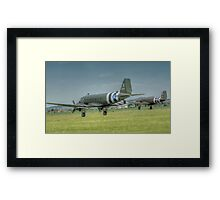 Douglas C-47 Skytrains Framed Print