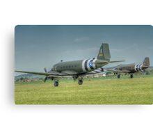 Douglas C-47 Skytrains Canvas Print